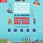 Affiche de la semaine internationale de la sécurité 2020
